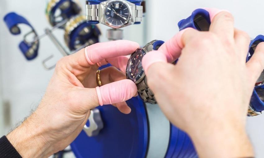 Un laboratorio di orologeria all'avanguardia