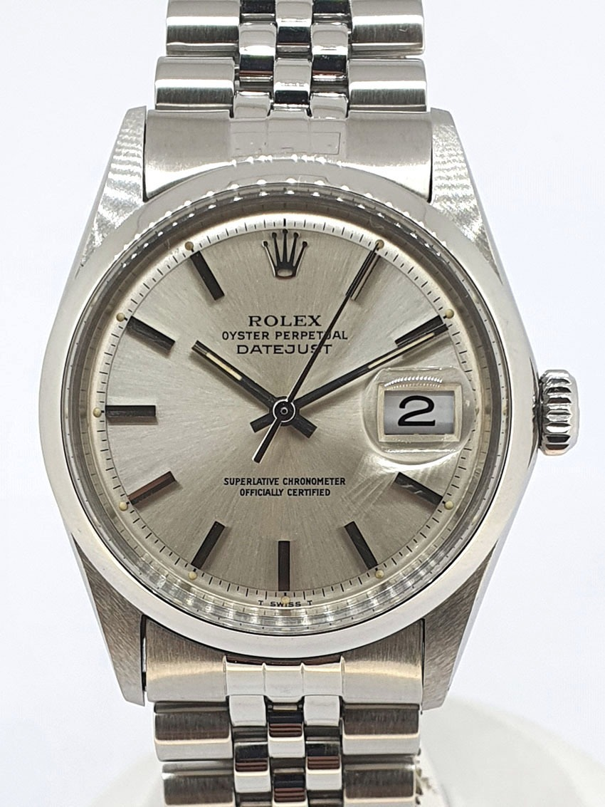 Rolex datejust plexy